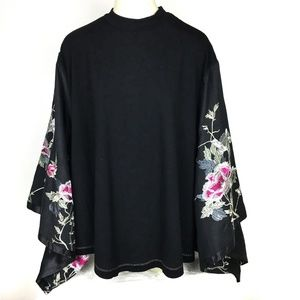 Free People Sydneys Tuesday Top Worn Embroidered
